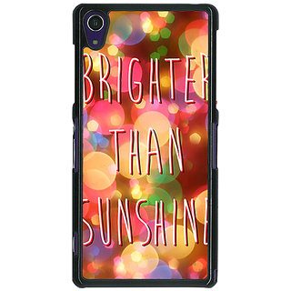 1 Crazy Designer Quote Back Cover Case For Sony Xperia Z1 C470815