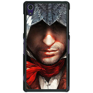1 Crazy Designer Assassins Creed Back Cover Case For Sony Xperia Z1 C470842