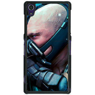 1 Crazy Designer Super Heroes Batman Bane Back Cover Case For Sony Xperia Z1 C470846