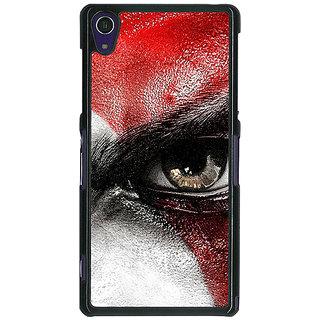 1 Crazy Designer God of War Back Cover Case For Sony Xperia Z1 C470854