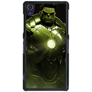1 Crazy Designer The Incredible Hulk Back Cover Case For Sony Xperia Z1 C470858