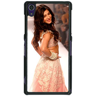 1 Crazy Designer Bollywood Superstar Shruti Hassan Back Cover Case For Sony Xperia Z1 C471072