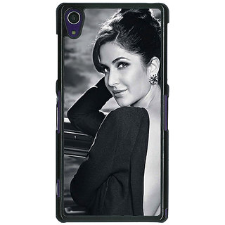 1 Crazy Designer Bollywood Superstar Katrina Kaif Back Cover Case For Sony Xperia Z1 C471073