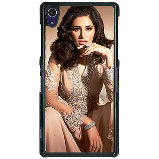 1 Crazy Designer Bollywood Superstar Nargis Fakhri Back Cover Case For Sony Xperia Z1 C471075