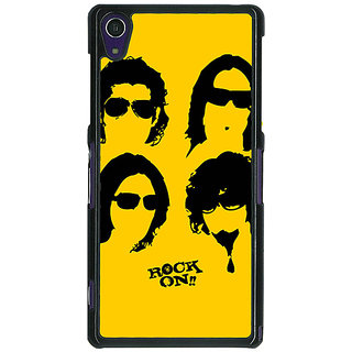 1 Crazy Designer Bollywood Superstar Rock On Back Cover Case For Sony Xperia Z1 C471098