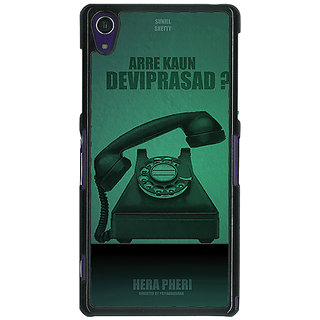 1 Crazy Designer Bollywood Superstar Hera Pheri Devi Prasad Back Cover Case For Sony Xperia Z1 C471112