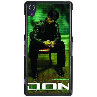 1 Crazy Designer Bollywood Superstar Don Shahrukh Khan Back Cover Case For Sony Xperia Z1 C471114