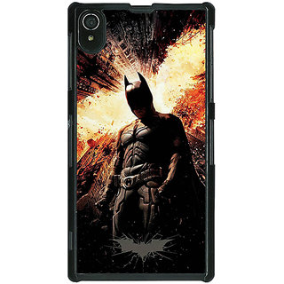 1 Crazy Designer Superheroes Batman Dark knight Back Cover Case For Sony Xperia Z2 C480015