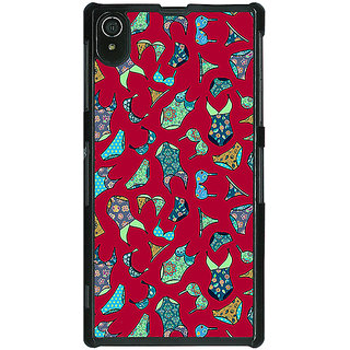 1 Crazy Designer Inners Pattern Back Cover Case For Sony Xperia Z2 C480245