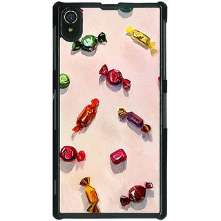1 Crazy Designer Toffee Pattern Back Cover Case For Sony Xperia Z2 C480247