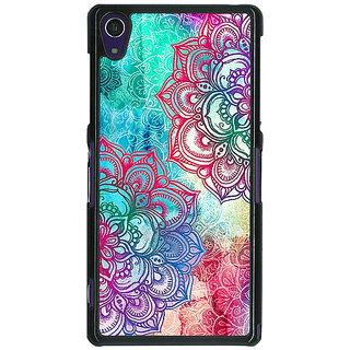 1 Crazy Designer Hot Doodle Pattern Back Cover Case For Sony Xperia Z1 C470210