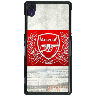 1 Crazy Designer Arsenal Alexis Sanchez Back Cover Case For Sony Xperia Z1 C470510