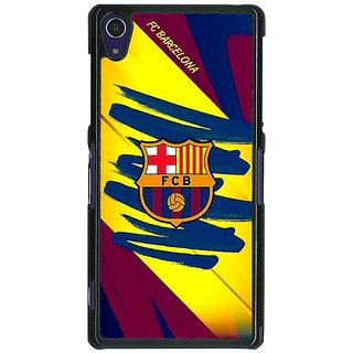 1 Crazy Designer Barcelona Back Cover Case For Sony Xperia Z1 C470525