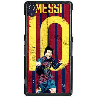 1 Crazy Designer Barcelona Messi Back Cover Case For Sony Xperia Z1 C470528
