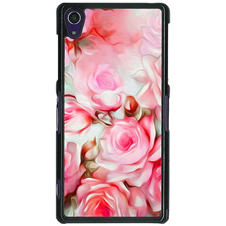 1 Crazy Designer Floral Pattern  Back Cover Case For Sony Xperia Z1 C470666