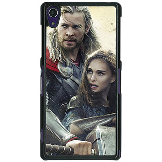 1 Crazy Designer Thor  Back Cover Case For Sony Xperia Z1 C470885