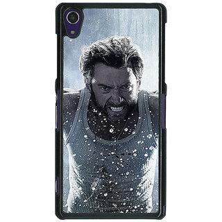 1 Crazy Designer Wolverine Hugh Jackman Back Cover Case For Sony Xperia Z1 C470896