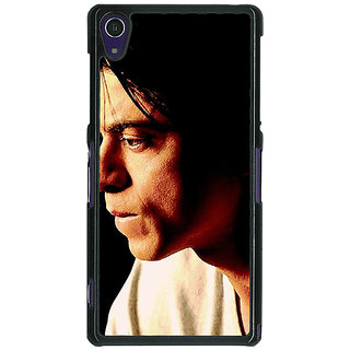 1 Crazy Designer Bollywood Superstar Shahrukh Khan Back Cover Case For Sony Xperia Z1 C470917