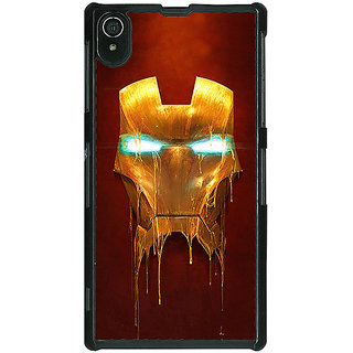 1 Crazy Designer Superheroes Ironman Back Cover Case For Sony Xperia Z2 C480025