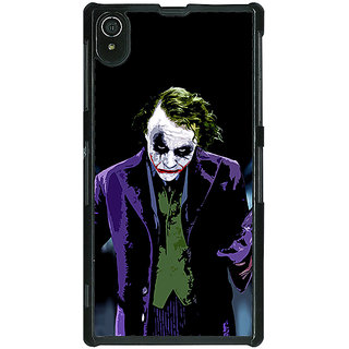 1 Crazy Designer Villain Joker Back Cover Case For Sony Xperia Z2 C480045