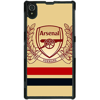 1 Crazy Designer Arsenal Back Cover Case For Sony Xperia Z2 C480519