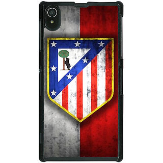 1 Crazy Designer Athletico Madrid Back Cover Case For Sony Xperia Z2 C480521