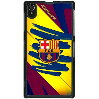 1 Crazy Designer Barcelona Back Cover Case For Sony Xperia Z2 C480525