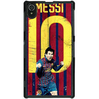 1 Crazy Designer Barcelona Messi Back Cover Case For Sony Xperia Z2 C480528