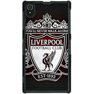 1 Crazy Designer Liverpool Back Cover Case For Sony Xperia Z2 C480543