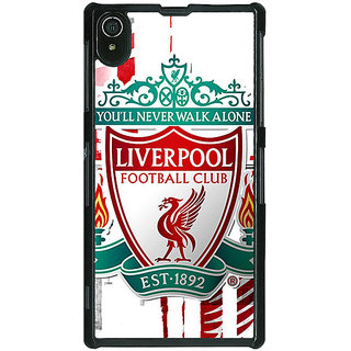1 Crazy Designer Liverpool Back Cover Case For Sony Xperia Z2 C480549