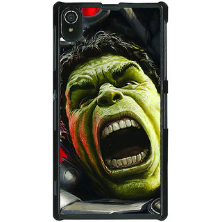 1 Crazy Designer Super Heroes Hulk Age of Ultron Back Cover Case For Sony Xperia Z2 C480845