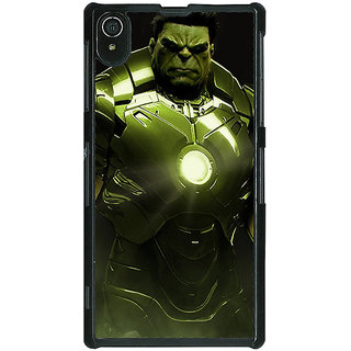 1 Crazy Designer The Incredible Hulk Back Cover Case For Sony Xperia Z2 C480858