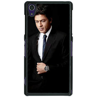1 Crazy Designer Bollywood Superstar Shahrukh Khan Back Cover Case For Sony Xperia Z1 C470926