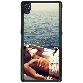 1 Crazy Designer Bollywood Superstar Varun Dhawan Back Cover Case For Sony Xperia Z1 C470931