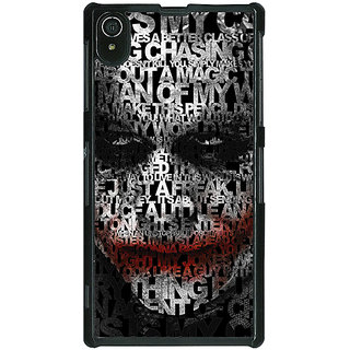 1 Crazy Designer Villain Joker Back Cover Case For Sony Xperia Z2 C480047