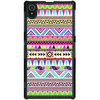 1 Crazy Designer Aztec Girly Tribal Back Cover Case For Sony Xperia Z2 C480051