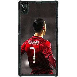 1 Crazy Designer Cristiano Ronaldo Portugal Back Cover Case For Sony Xperia Z2 C480321