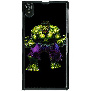 1 Crazy Designer Superheroes Hulk Back Cover Case For Sony Xperia Z2 C480327