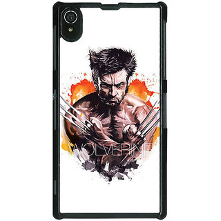 1 Crazy Designer Superheroes Wolverine Back Cover Case For Sony Xperia Z2 C480335