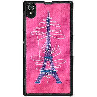 1 Crazy Designer Paris Love Back Cover Case For Sony Xperia Z2 C480605
