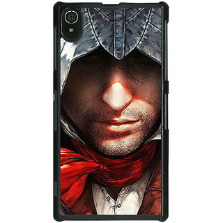 1 Crazy Designer Assassins Creed Back Cover Case For Sony Xperia Z2 C480842
