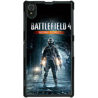 1 Crazy Designer Battlefield 4 Back Cover Case For Sony Xperia Z2 C480849