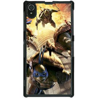 1 Crazy Designer Ninja Turtles Back Cover Case For Sony Xperia Z2 C480889