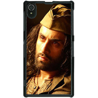1 Crazy Designer Bollywood Superstar Ranbir Kapoor Back Cover Case For Sony Xperia Z2 C480958