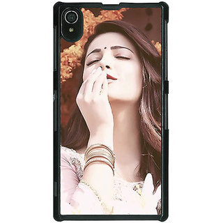 1 Crazy Designer Bollywood Superstar Shruti Hassan Back Cover Case For Sony Xperia Z2 C480975