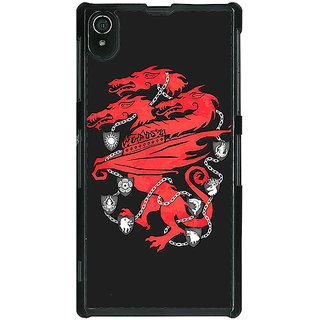 1 Crazy Designer Game Of Thrones GOT House Lannister  Back Cover Case For Sony Xperia Z2 C480157