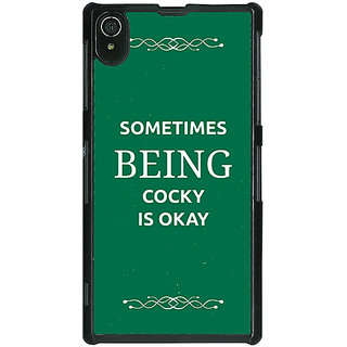 1 Crazy Designer SUITS Quotes Back Cover Case For Sony Xperia Z2 C480479