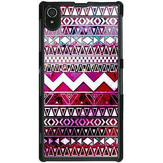 1 Crazy Designer Tribal Back Cover Case For Sony Xperia Z2 C480797