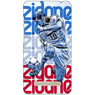 1 Crazy Designer Real Madrid Back Cover Case For Asus Zenfone 5 C490589
