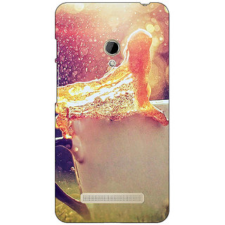1 Crazy Designer Coffee Back Cover Case For Asus Zenfone 5 C490683